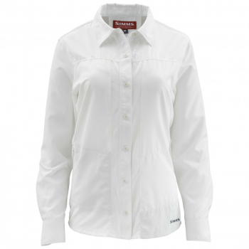 Рубашка SIMMS WS Isle LS Shirt цвет White