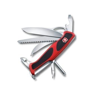 Нож VICTORINOX RangerGrip 58 Hunter 130 мм 13 функций цв. красный / черный, карт.короб