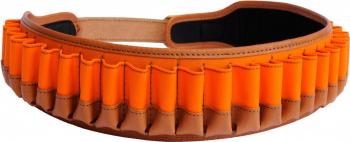Патронташ MAREMMANO 16060 Cartridge Belt цв. Оранжевый  на 30 патронов .12 и . 30