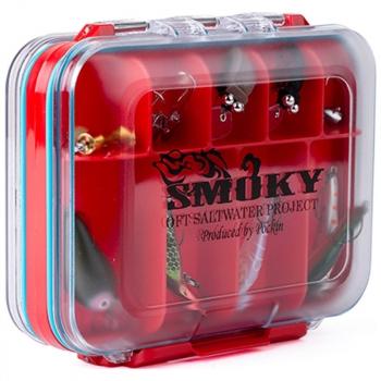 Коробка OFT Oft Smoky Water Proof Boх р. М (126 х 102 х 44 мм) в интернет магазине Rybaki.ru