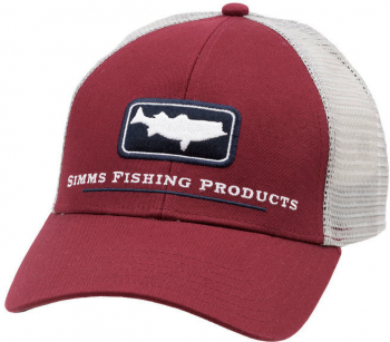 Кепка SIMMS Striper Icon Trucker цв. Rusty Red