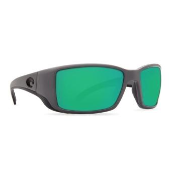 Очки поляризационные COSTA DEL MAR Blackfin W580 р. L цв. Matte Gray цв. ст. Green Mirror Glass