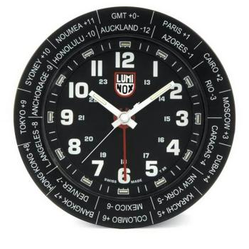 Настольные часы LUMINOX WORLD ALARM CLOCK A.LWAC.B в интернет магазине Rybaki.ru