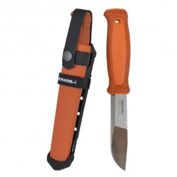 Нож MORAKNIV Kansbol Burnt Orange c мульти креплением в интернет магазине Rybaki.ru