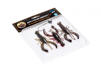 Набор приманок SAVAGE GEAR 3D Crayfish kit (3 + 1 шт.) 8 см