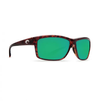 Очки поляризационные COSTA DEL MAR Mag Bay 580P р. XL цв. Tortoise цв. ст. Green Mirror