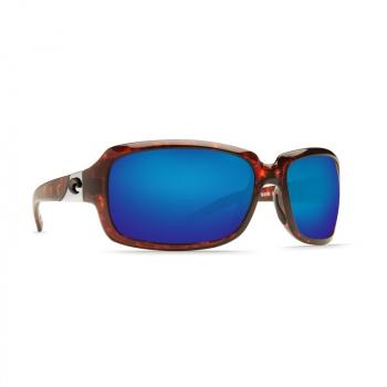 Очки поляризационные COSTA DEL MAR Isabela W580 р. L цв. Tortoise цв. ст. Blue Mirror Glass