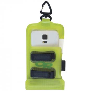 Гермочехол OUTDOOR RESEARCH Dry Pocket Premium для электроники р. STD цв. Lemongrass в интернет магазине Rybaki.ru