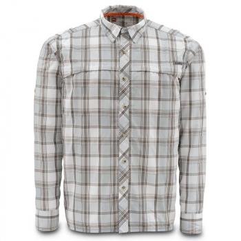 Рубашка SIMMS Stone Cold Shirt цвет Moonstone Plaid