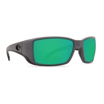 Очки поляризационные COSTA DEL MAR Blackfin 580P р. L цв. Matte Gray цв. ст. Green Mirror