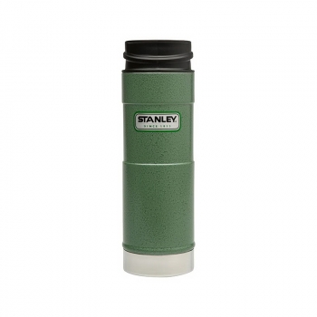 Термокружка STANLEY Classic One Hand Vacuum Mug (тепло 7 ч/ холод 7 ч) 0,47 л цв. Зеленый в интернет магазине Rybaki.ru