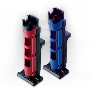 Стойка для удилища MEIHO Rod Stand BM-230N вн. д. 35 мм цв. красный / черный в интернет магазине Rybaki.ru