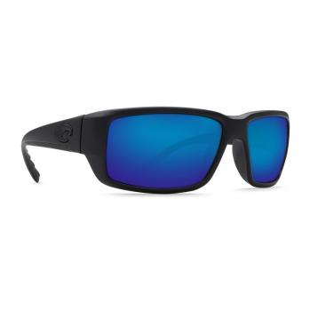 Очки поляризационные COSTA DEL MAR Fantail 580P р. M цв. Blackout цв. ст. Blue Mirror