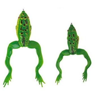 Лягушка SAVAGE GEAR 3D Jumping Frog 11 F цв. Green в интернет магазине Rybaki.ru