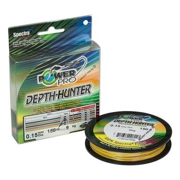 Плетенка POWER PRO Depth Hunter Multicolor 150 м 0,32 мм цв. Разноцветный в интернет магазине Rybaki.ru