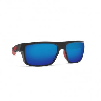 Очки поляризационные COSTA DEL MAR Motu 580G р. M цв. Race Black цв. ст. Blue Mirror
