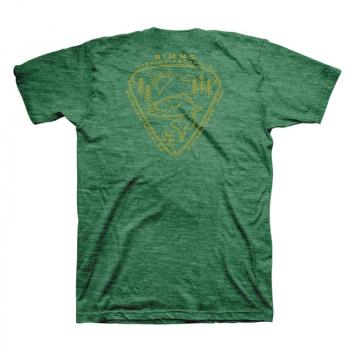 Футболка SIMMS Trout Passion T-Shirt цвет Kelly Heather
