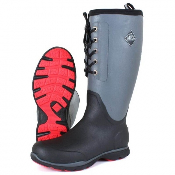 Сапоги MUCKBOOT Arctic Excursion Lace Tail цвет Черный / серый / красный