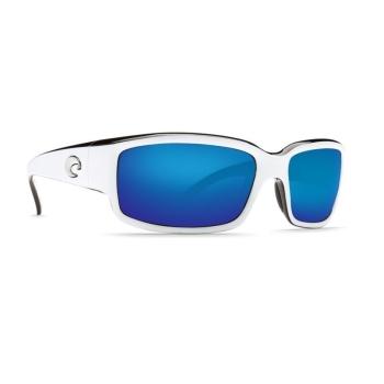 Очки поляризационные COSTA DEL MAR Caballito W580 р. M цв. White/Black цв. ст. Blue Mirror Glass
