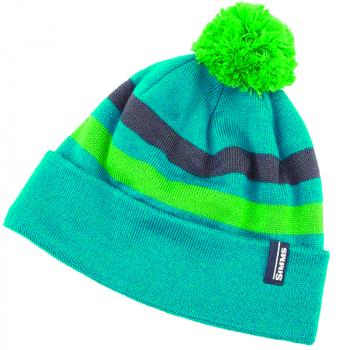 Шапка SIMMS Women's Fleece Lined Pom Hat цв. Lagoon