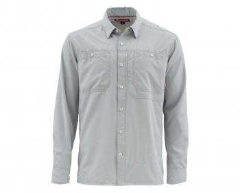 Рубашка SIMMS Ebb Tide LS Shirt цвет Sterling