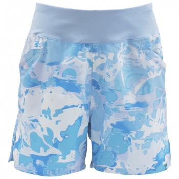 Шорты SIMMS Women's Taiya Short цвет Cloud Camo Blue