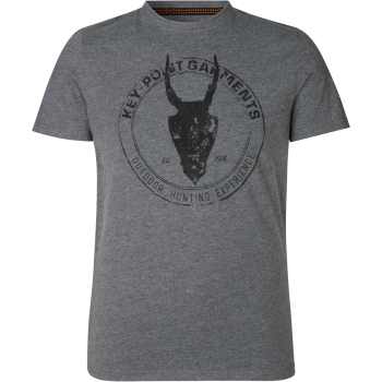 Футболка SEELAND Key-Point T-Shirt цвет Grey Melange