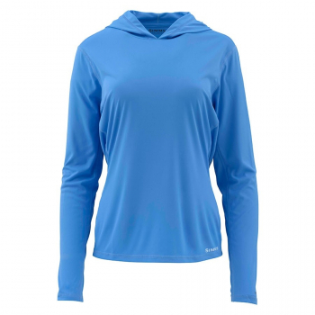 Футболка SIMMS Women's Solarflex Hoody цвет Blue Harbour