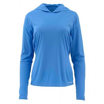 Термофутболка SIMMS Women's Solarflex Hoody цвет Blue Harbour