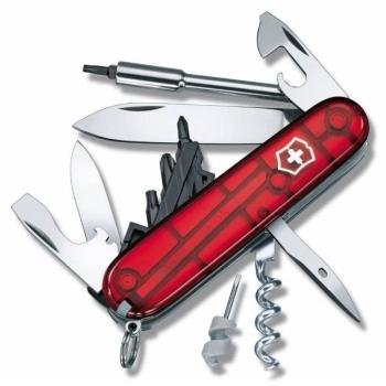 Нож VICTORINOX CyberTool S красный полупрозрачный 27 функций 91 мм карт.коробка