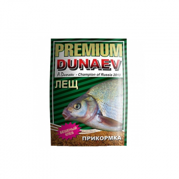 Прикормка DUNAEV Premium 1кг Лещ в интернет магазине Rybaki.ru