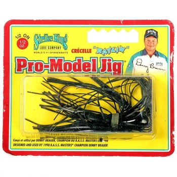 Бактейл STRIKE KING Pro-Model Jig 14 г (1/2 oz) цв. black