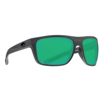 Очки поляризационные COSTA DEL MAR Broadbill 580G р. L цв. Matte Gray цв. ст. Green Mirror