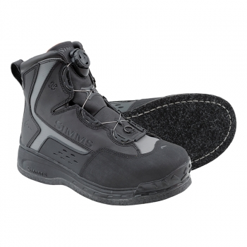 Ботинки SIMMS Rivertek 2 Boa Boot Felt цвет Black в интернет магазине Rybaki.ru