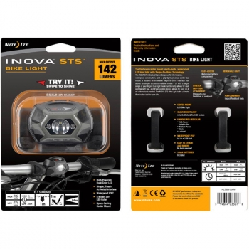 Фонарь налобный INOVA STS Bike Light цв. Charcoal