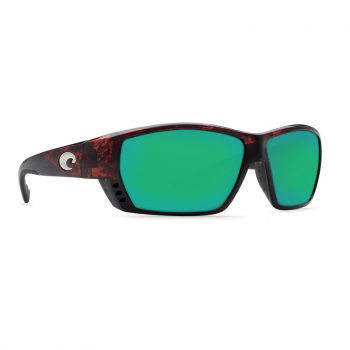 Очки поляризационные COSTA DEL MAR Tuna Alley W580 р. L цв. Tortoise цв. ст. Green Mirror Glass