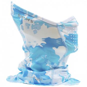 Бандана SIMMS Women's SunGaiter цв. Cloud Camo Blue