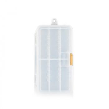 Коробка MEIHO Worm Case M цв. прозрачный в интернет магазине Rybaki.ru