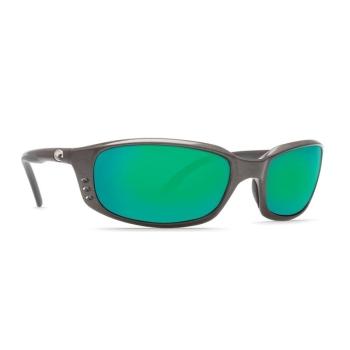 Очки поляризационные COSTA DEL MAR Brine W580 р. L цв. Gunmetal цв. ст. Green Mirror Glass