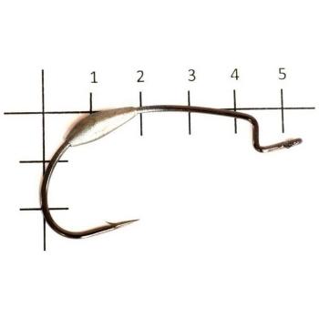 Крючок офсетный DECOY Worm 103 № 5/0 (4 шт.)