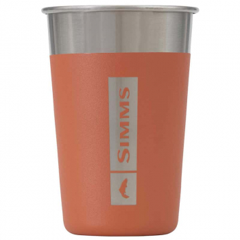 Стакан SIMMS Headwater Stainless Pint Glass цв. Orange