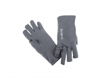 Перчатки SIMMS Ultra-Wool Core 3-Finger Liner цвет Carbon