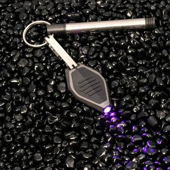 Фонарь светодиодный INOVA Miсrolight, черный корпус, ультрафиолет