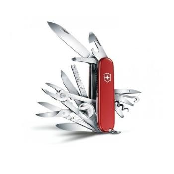 Нож VICTORINOX SwissChamp 91 мм 33 функций цв. красный, карт.коробка