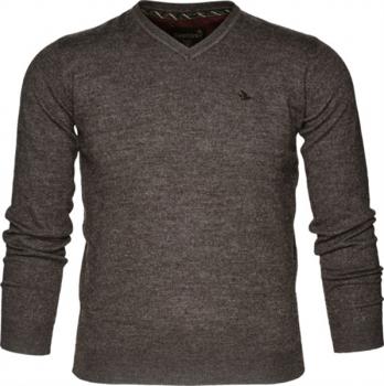 Пуловер SEELAND Compton Pullover цвет Moose brown