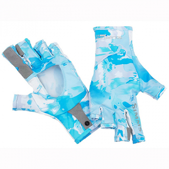 Перчатки SIMMS Solarflex Sunglove цвет Cloud Camo Blue
