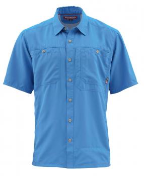 Рубашка SIMMS Ebb Tide SS Shirt цвет Harbor Blue