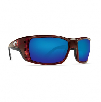 Очки поляризационные COSTA DEL MAR Permit W580 р. XL Global Fit цв. Tortoise цв. ст. Blue Mirror Glass