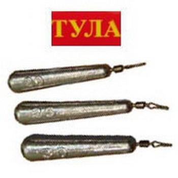 Груз ТУЛА Конус для отводного дропшота с застежкой (3 шт.) 8 г