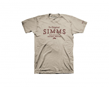 Футболка SIMMS The Original T-Shirt цвет Sand